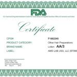 сертификат AA