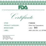 сертификат D
