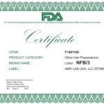 сертификат NFB